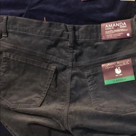 6188ccbd252 Curdoroy Jeans. Boutique. Gloria Vanderbilt